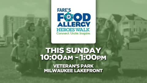 Food Allergy Heroes Walk in Milwaukee Sunday