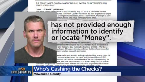Man charged with forging Milwaukee County Check worth more than...