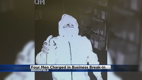 Exclusive: Four charged with theft at Brookfield business