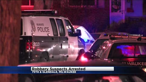 Milwaukee Police: 5 arrested following pursuit of armed robbery suspects