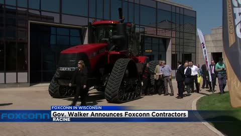 $100 million in subcontracts announced between Foxconn and Wisconsin businesses
