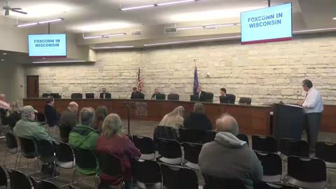 Mount Pleasant leaders excited about Foxconn news, some residents...