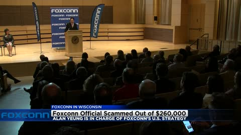 Foxconn official nearly scammed out of $260,000