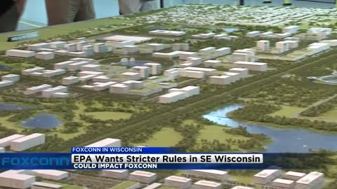 EPA wants stricter rules which could impact Foxconn