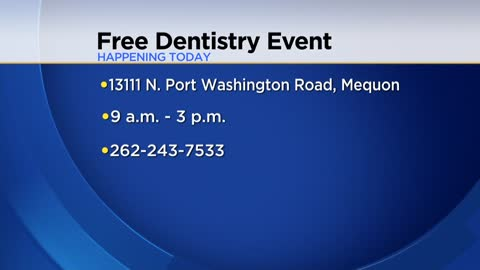 Free dental care available Monday-Wednesday in Mequon