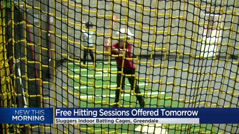 "Free Baseball Hitting Session Tuesday at Greendale's ""Sluggers..."