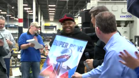 """It's unreal:"" Grafton company gives employee free trip to Super Bowl"