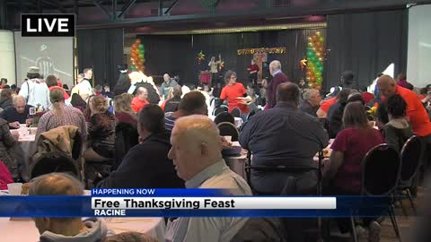 Thousands expected to attend free community Thanksgiving Day feast in Racine