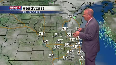 Dodging showers, storms for the last summer weekend