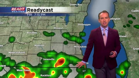 Soggy start to Friday with a chance for afternoon storms