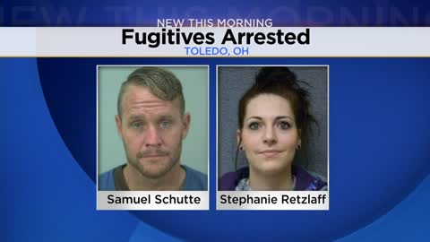 Wisconsin fugitives arrested in Ohio following string of crimes