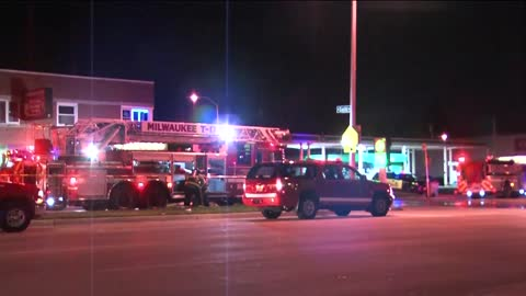 Milwaukee furniture store goes up in flames Friday morning