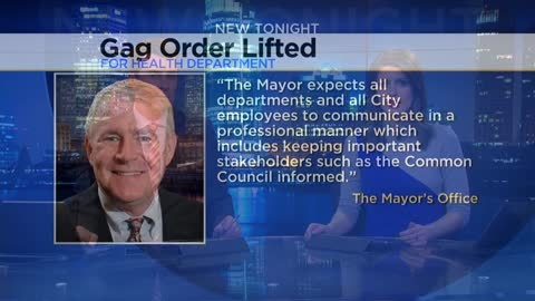 Several city of Milwaukee departments deny having gag order policies similar to the health department