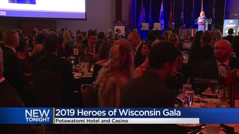 2019 Heroes of Wisconsin Gala held at Potawatomi Hotel and Casino