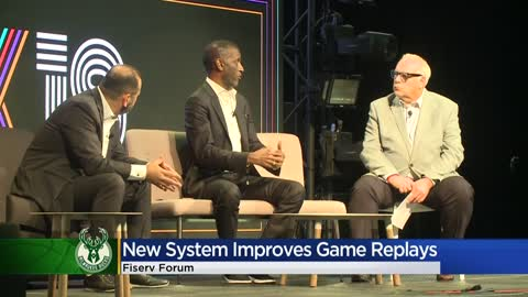 Milwaukee Bucks reveal new high-tech replay system