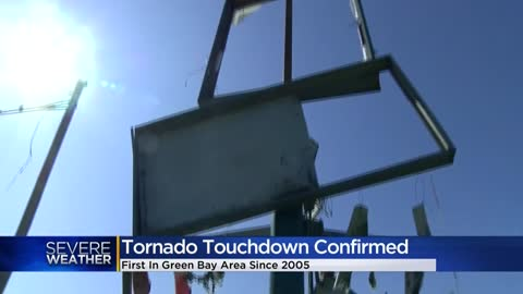 Green Bay sees first tornado since 2005 Wednesday night