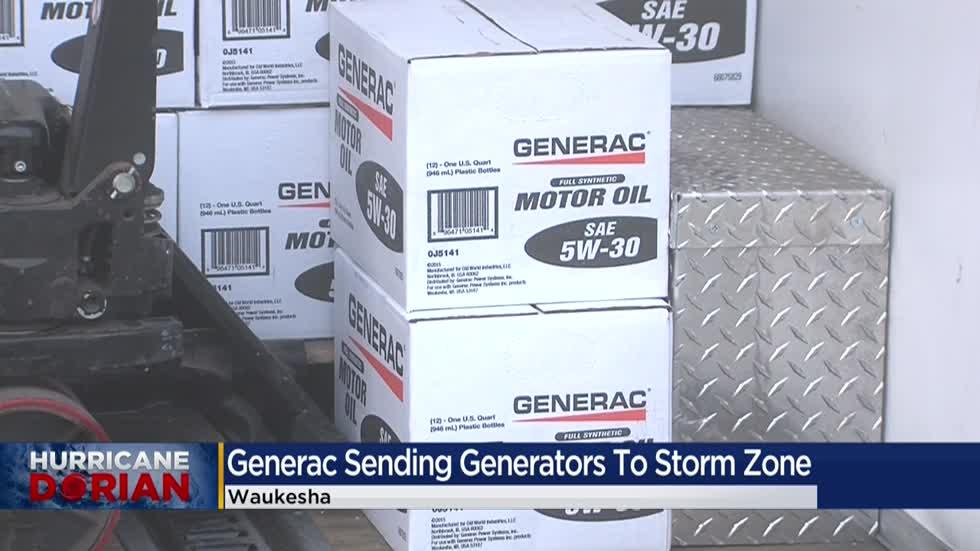 Waukesha's Generac Power Systems sending generators to storm