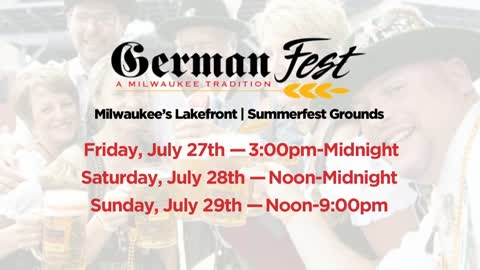 German Fest has you covered this weekend, from steins to strudel