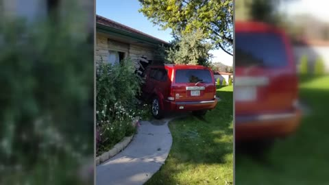 Driver crashes into home, saved by NARCAN