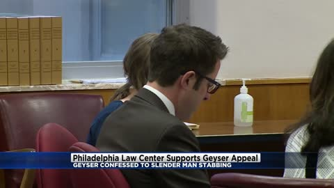 Philadelphia law center supports Morgan Geyser's appeal