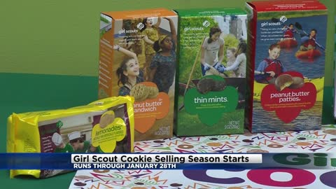 Girl Scout Cookie season officially underway