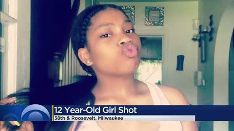 12-year-old girl shot while sitting on bed inside home near...