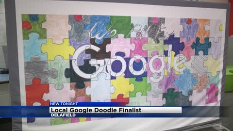 Vote now to help Delafield girl become a national finalist for Google's Doodle contest