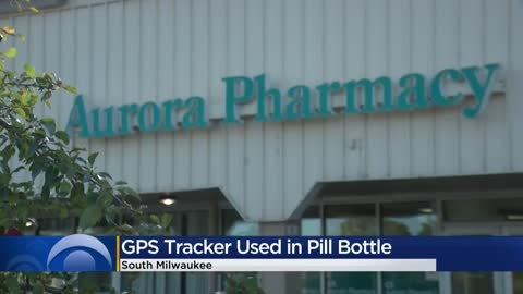 Pill bottle with GPS tracker leads police directly to theft suspect