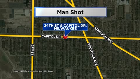 Police looking for known suspects after man shot near 24th and Capitol