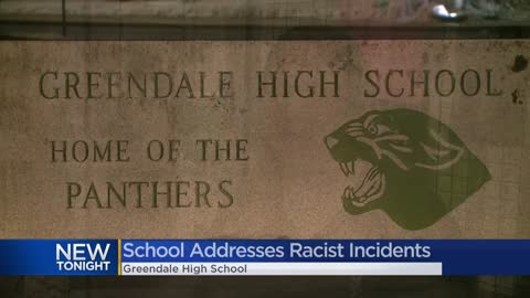 Greendale High School holds community meeting to address racism...