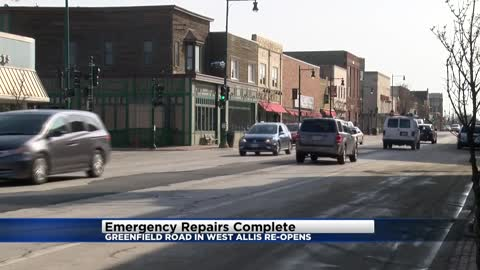 West Allis business owners relieved construction project finished before Easter