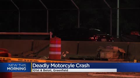 1 dead in crash near 101st and Beloit in Greenfield
