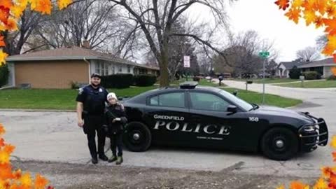 Greenfield Police Officer goes above and beyond to help out a mother in need