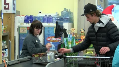 """Ready for a big day:"" Grocery stores stock up for busy day"