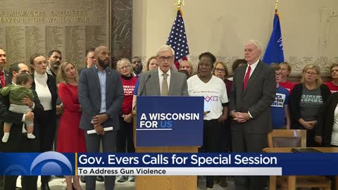 Gov. Evers signs executive order calling for special session...