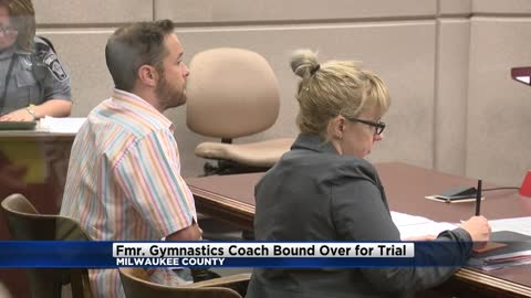 Former gymnastics coach accused of showing porn to children bound over for trial