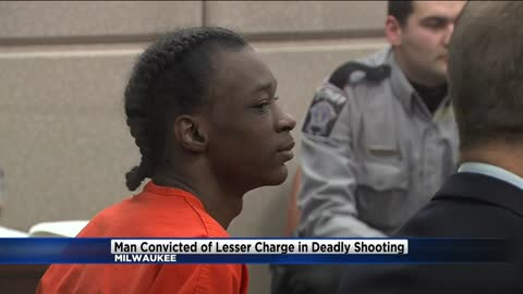 Milwaukee man convicted of lesser charge in deadly shooting