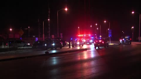 West Allis Police pursuit ends in crash, 2 arrested