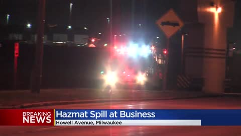 Two sustain minor injuries in Milwaukee HAZMAT response