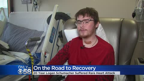 20-year-old Wisconsin man recovering after massive heart attack,...