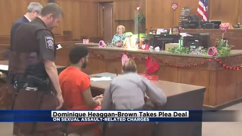 Dominique Heaggan-Brown takes plea deal in sexual assault case