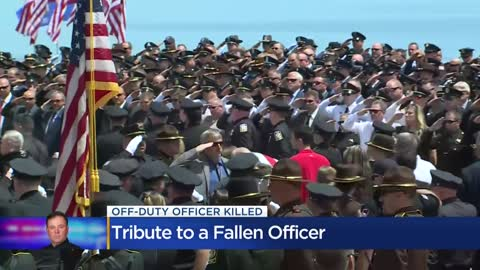 Community mourns fallen Racine Police Officer