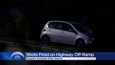 Suspect taken into custody following shots fired incident near I-94