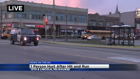 Man taken to hospital after hit-and-run near 13th and Lincoln