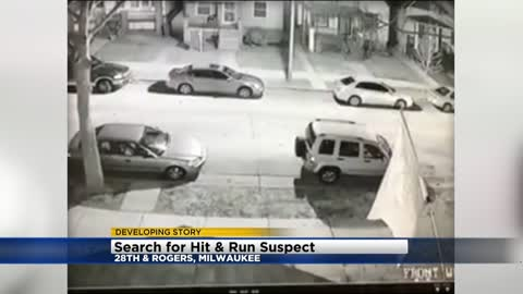 Police looking for suspect in south side hit-and-run