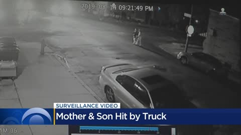 'Rams right into them:' Mother and son hit by truck on Milwaukee's...
