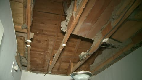 """There's not a lot of resources for us:"" Bedroom ceiling collapses in Milwaukee home"