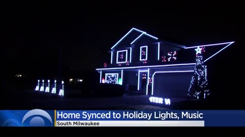 South Milwaukee man turns home into holiday lights show
