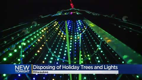 Milwaukee non-profit turns donated Christmas lights into holiday displays