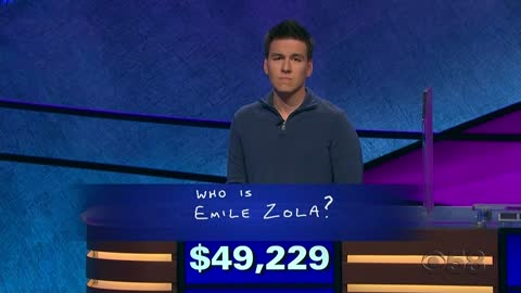 'Jeopardy!' champion James Holzhauer wins his 23rd game,...
